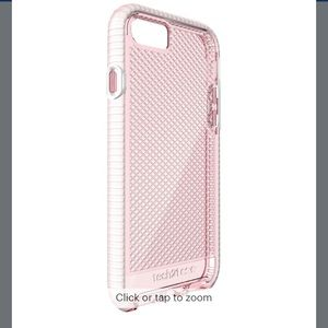Tech 21 pink case for iphone 8 plus